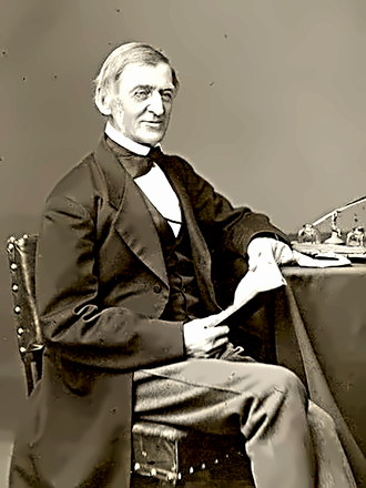 Philosopher Ralph Waldo Emerson