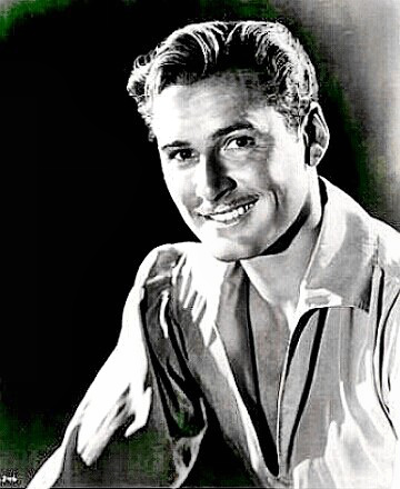 Actor Errol Flynn