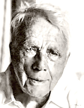 The Face of Poet Robert Frost