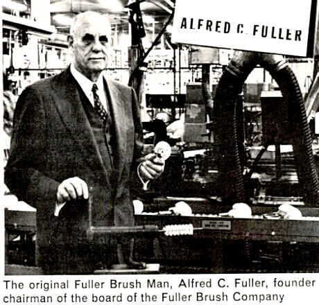 Brush Man Alfred Fuller