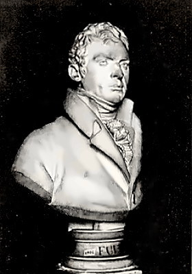 Bust of Inventor Robert Fulton
