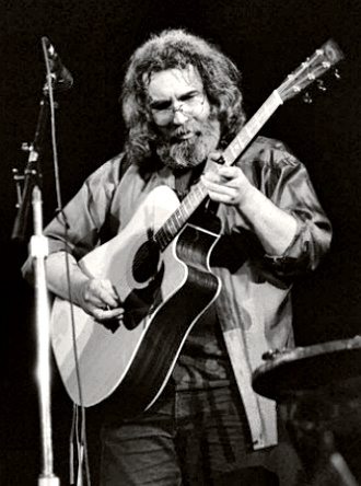 Guitarist Jerry Garcia