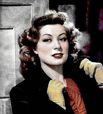 Academy Award-winning actress Greer Garson