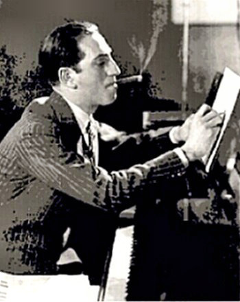 Composer George Gershwin