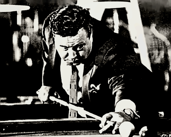 Actor Jackie Gleason in The Hustler