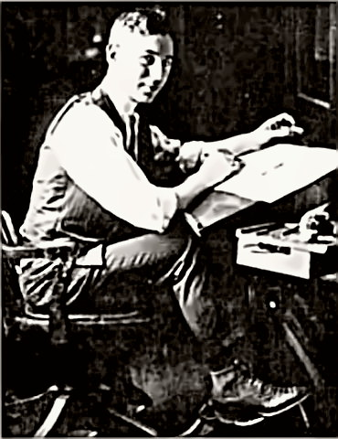 Cartoonist Rube Goldberg