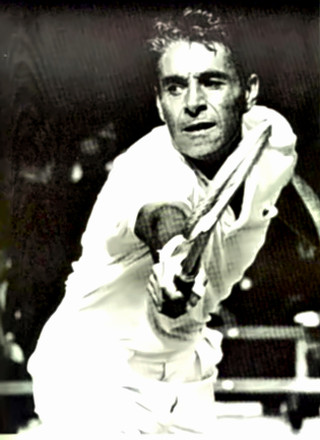 Tennis Great Pancho Gonzales