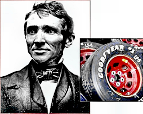 Inventor Charles Goodyear