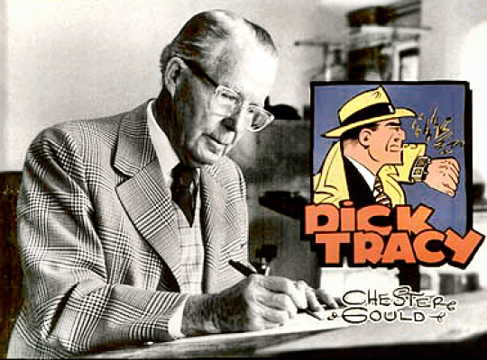 Cartoonist Chester Gould