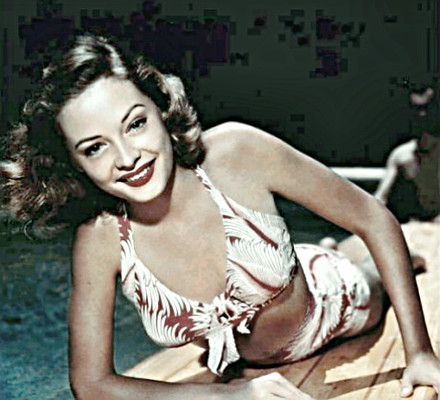 Actress Jane Greer