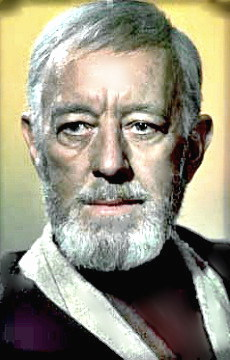 Sir Alec Guinness in Star Wars