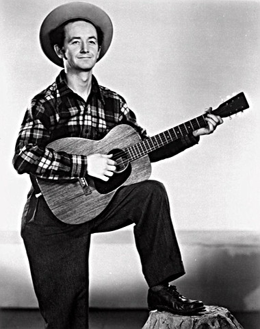 Singer and Songwriter Woody Guthrie