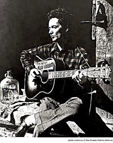 Folk Singer and Songwriter Woody Guthrie