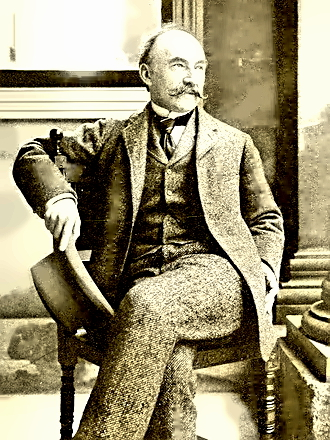 Writer Thomas Hardy