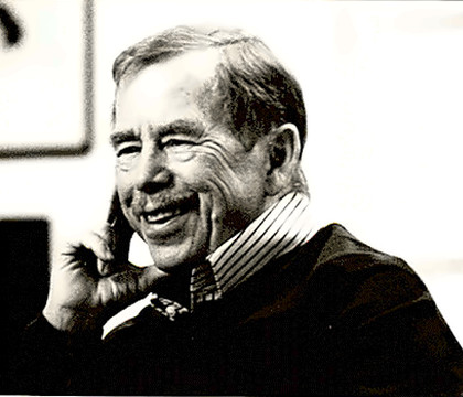 Political Leader Vaclav Havel