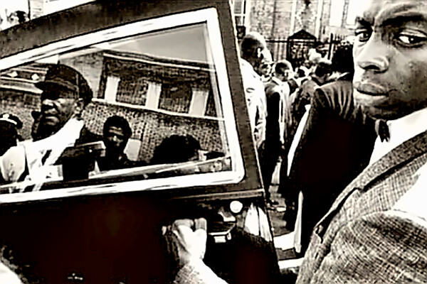 1989 Funeral for 16YO Yusuf Hawkins Copyright: Eli Reed / Magnum Photos