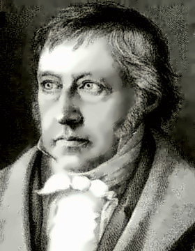 Philosopher G.W.F. Hegel