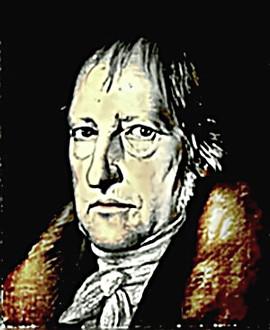 Portrait of Philosopher G.W.F. Hegel