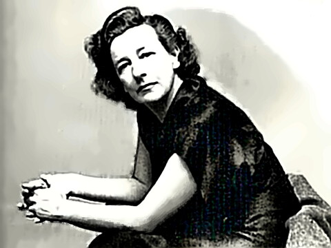Playwright Lillian Hellman