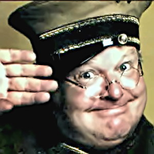 Comedian Benny Hill