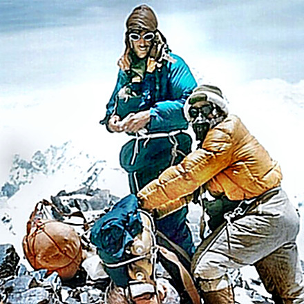 Hillary & Norgay - Everest Summit