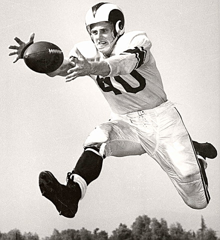 LA Rams Hall of Fame Receiver Elroy 'Crazy Legs' Hirsch