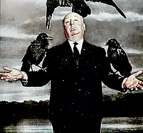 Director Alfred Hitchcock