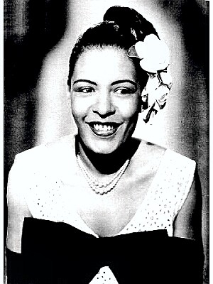 Jazz Singer Billie Holiday