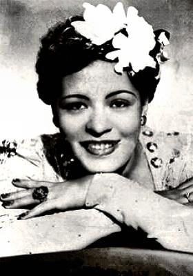 Singer Billie Holiday