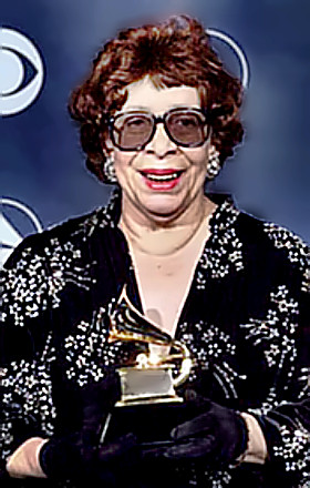 Shirley Horn with Grammy