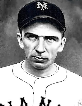 Pitcher Carl Hubbell