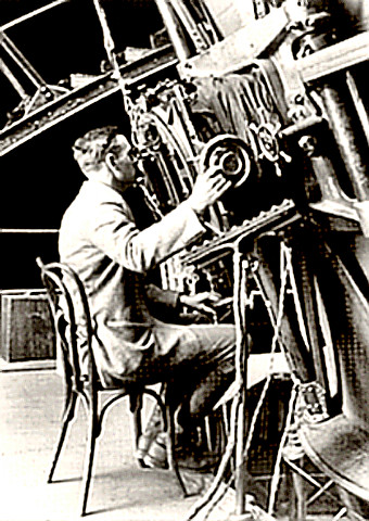 Astronomer Edwin Powell Hubble