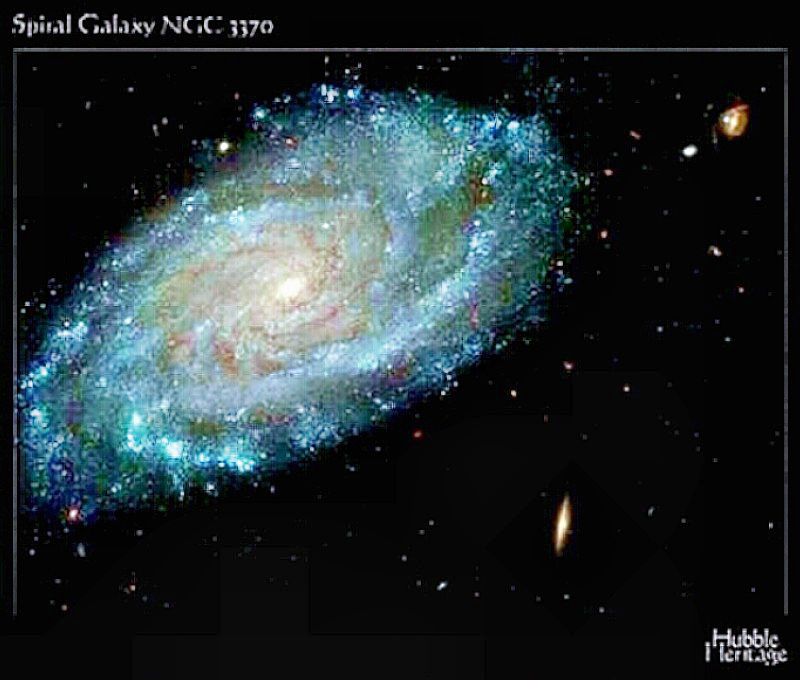 Hubble Image of Spiral Galaxy NGC3370