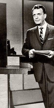 Newscaster Chet Huntley