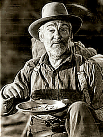 Walter Huston as Howard in Treasure of the Sierra Madre