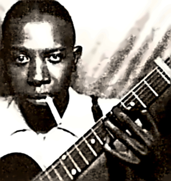 Bluesman Robert L. Johnson