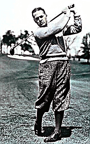 Golf Champion Bobby Jones
