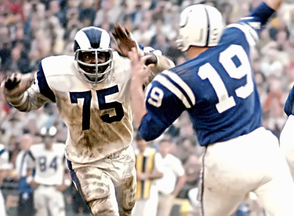 Hall of Fame Defensive End Deacon Jones