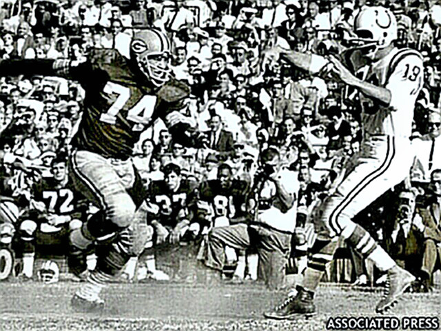 Packer Tackle Henry Jordan