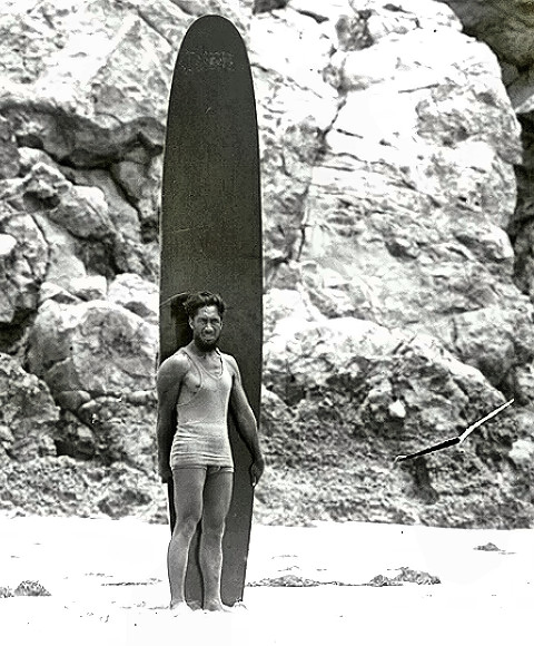 Olympic Champion Duke Kahanamoku
