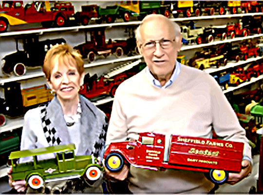 Toy Man Donald Kaufman & Wife