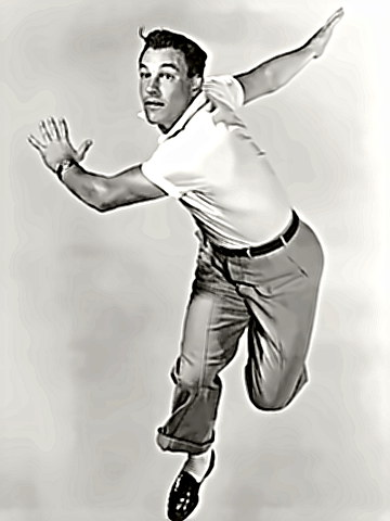 Dancer Gene Kelly