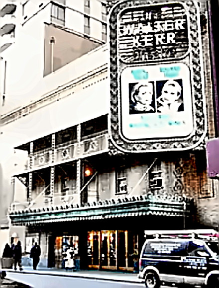 Kerr Theater on Broadway, NYC