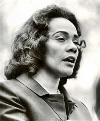 Civil Rights Leader Coretta Scott King