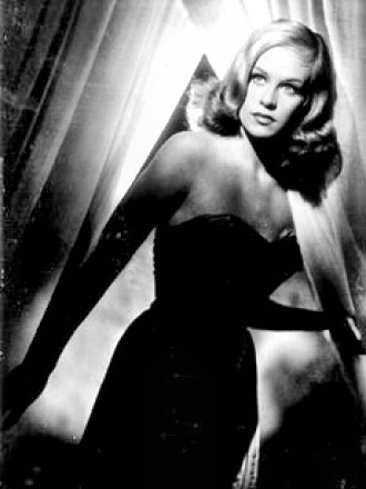 Actress Hildegard Knef