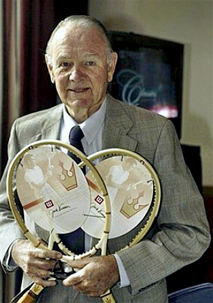 Tennis Hall of Famer Jack Kramer
