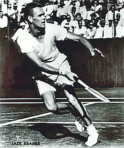 Tennis Hall of Fame Champ Jack Kramer