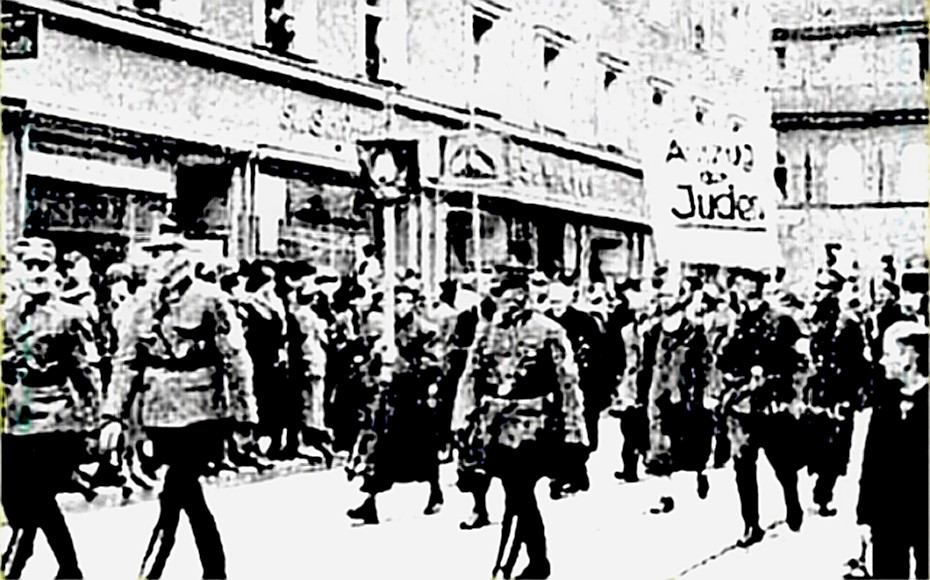 Kristallnacht - morning after