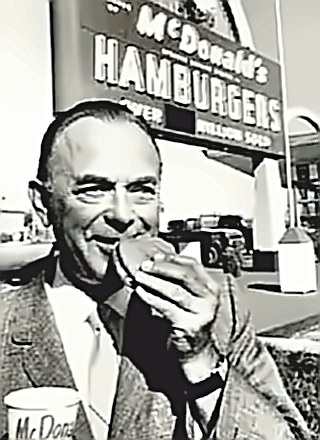 McDonalds Man Ray Kroc