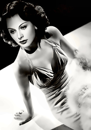 Actress Hedy Lamarr
